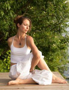 Clarissa Izzo, Yogalehrerin in Gerasdorf