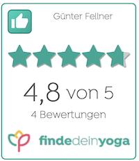 Bewertung sanftes Yoga Günter Fellner